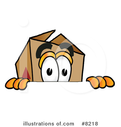 Box Clipart #8218 by Toons4Biz