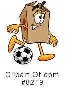 Royalty-Free (RF) box Clipart Illustration #8219
