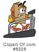 Box Clipart #8228 by Toons4Biz