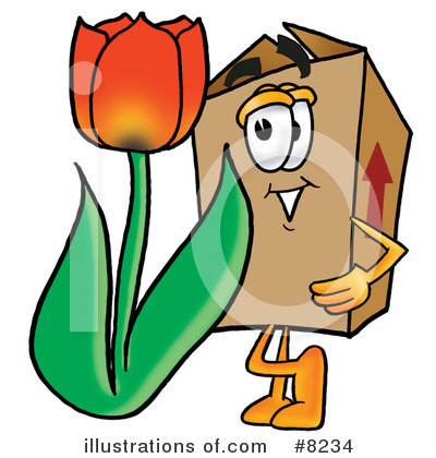 Box Clipart #8234 by Toons4Biz