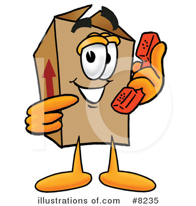 Box Clipart #8235 by Toons4Biz