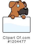 Royalty-Free (RF) Boxer Clipart Illustration #1204477