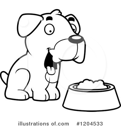 Food Bowl Clipart #1204533 by Cory Thoman