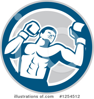 Boxing Clipart #1254512 by patrimonio