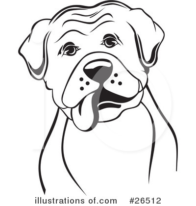 Royalty-Free (RF) Boxer Dog Clipart Illustration by David Rey - Stock ...