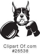 Boxer Dog Clipart #26538