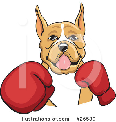 Boxing Gloves Clipart #26539 by David Rey
