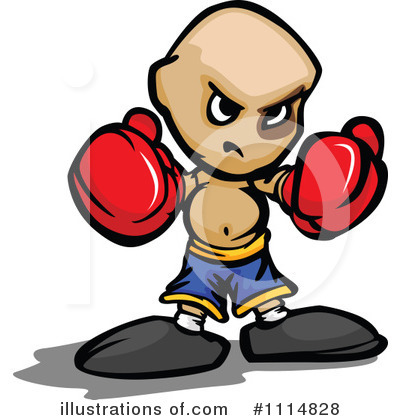 Royalty-Free (RF) Boxing Clipart Illustration by Chromaco - Stock Sample #1114828