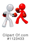 Royalty-Free (RF) Boxing Clipart Illustration #1123433