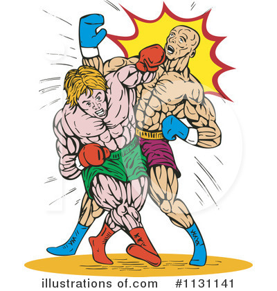 Boxing Clipart #1131141 by patrimonio