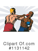 Royalty-Free (RF) Boxing Clipart Illustration #1131142
