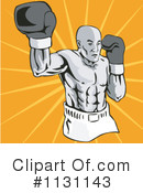 Royalty-Free (RF) Boxing Clipart Illustration #1131143