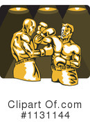 Royalty-Free (RF) Boxing Clipart Illustration #1131144