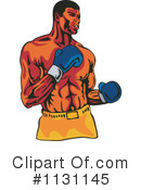 Royalty-Free (RF) Boxing Clipart Illustration #1131145