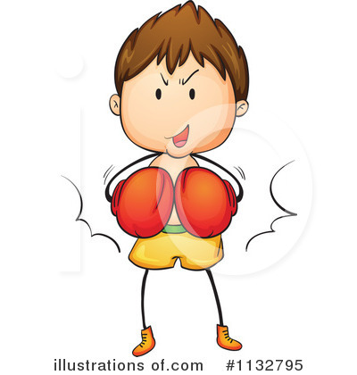 Royalty-Free (RF) Boxing Clipart Illustration by Graphics RF - Stock Sample #1132795