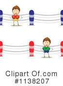 Royalty-Free (RF) Boxing Clipart Illustration #1138207