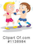 Royalty-Free (RF) Boxing Clipart Illustration #1138984