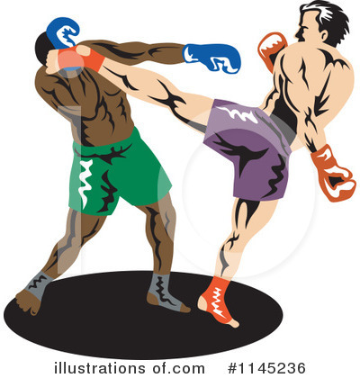 Royalty-Free (RF) Boxing Clipart Illustration by patrimonio - Stock Sample #1145236