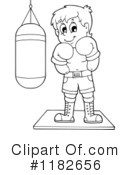 Boxing Clipart #1182656 by visekart