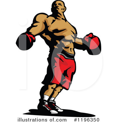 Boxing Clipart #1196350 by Chromaco
