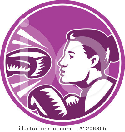 Boxing Clipart #1206305 by patrimonio