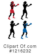 Royalty-Free (RF) Boxing Clipart Illustration #1216232