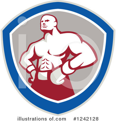 Boxing Clipart #1242128 by patrimonio