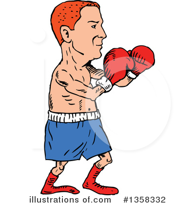 Boxing Gloves Clipart #1358332 by patrimonio