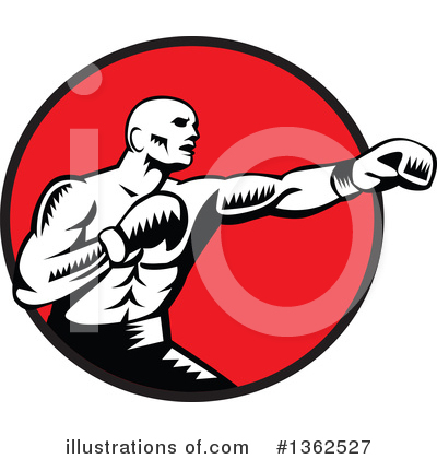 Boxing Clipart #1362527 by patrimonio