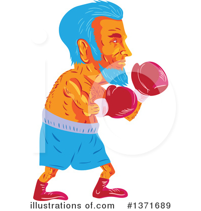 Boxing Clipart #1371689 by patrimonio