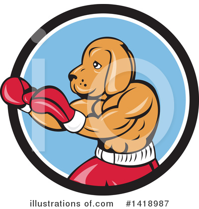 Boxing Clipart #1418987 by patrimonio