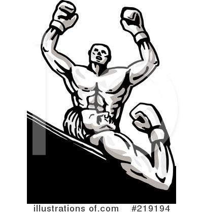 Boxing Clipart #219194 - Illustration by patrimonio