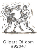 Boxing Clipart #92047