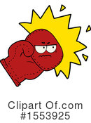 Boxing Glove Clipart #1553925 by lineartestpilot