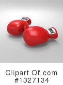 Boxing Gloves Clipart #1327134 by Julos