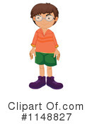 Royalty-Free (RF) Boy Clipart Illustration #1148827
