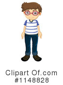 Royalty-Free (RF) Boy Clipart Illustration #1148828