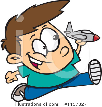 Jet Clipart #1157327 by toonaday