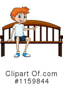 Royalty-Free (RF) boy Clipart Illustration #1159844