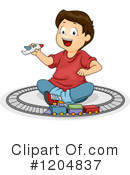Royalty-Free (RF) Boy Clipart Illustration #1204837