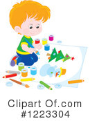 Boy Clipart #1223304 by Alex Bannykh