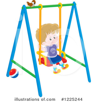 Playground Clipart #1225244 by Alex Bannykh