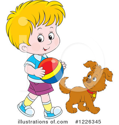 Puppy Clipart #1226345 by Alex Bannykh