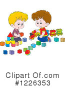 Royalty-Free (RF) Boy Clipart Illustration #1226353