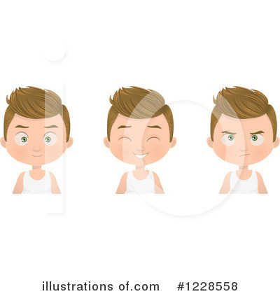 Boy Clipart #1228558 by Melisende Vector