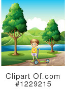 Royalty-Free (RF) Boy Clipart Illustration #1229215