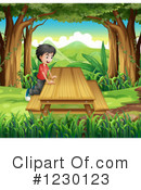 Boy Clipart #1230123 by Graphics RF