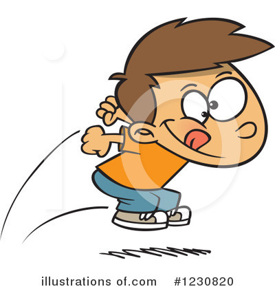 Track And Field Clipart #1230820 by toonaday