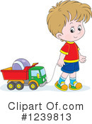 Royalty-Free (RF) Boy Clipart Illustration #1239813