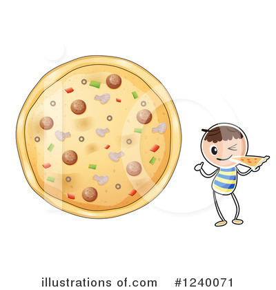 Pizza Clipart #1240071 by Graphics RF